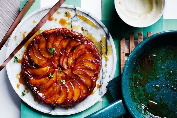 Matt Moran takes a classic, French tart and gives it a summery, Aussie twist.