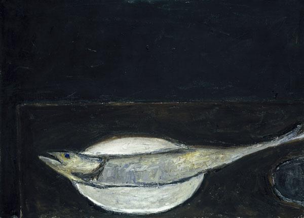 William Scott 'Mackerel on a Plate' (1951-52)