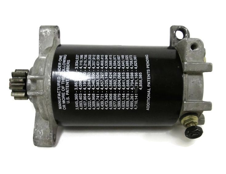 Johnson Evinrude FICHT Electric Starter Motor 90-175hp 1997-2006 #0586287 #586287 #OMC #Johnson #Evinrude #FICHT #Outboard #StarterMotor #michiganfreshwatermarine