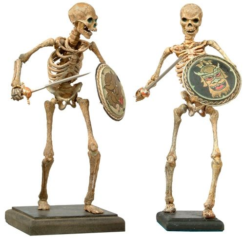 Ray Harryhausen's Skeletons from Jason And The Argonauts (1963)