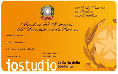IoStudio, con la Carta dello Studente offerte, vantaggi e sconti per glistudenti