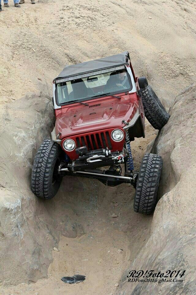 Jeep TJ crawler