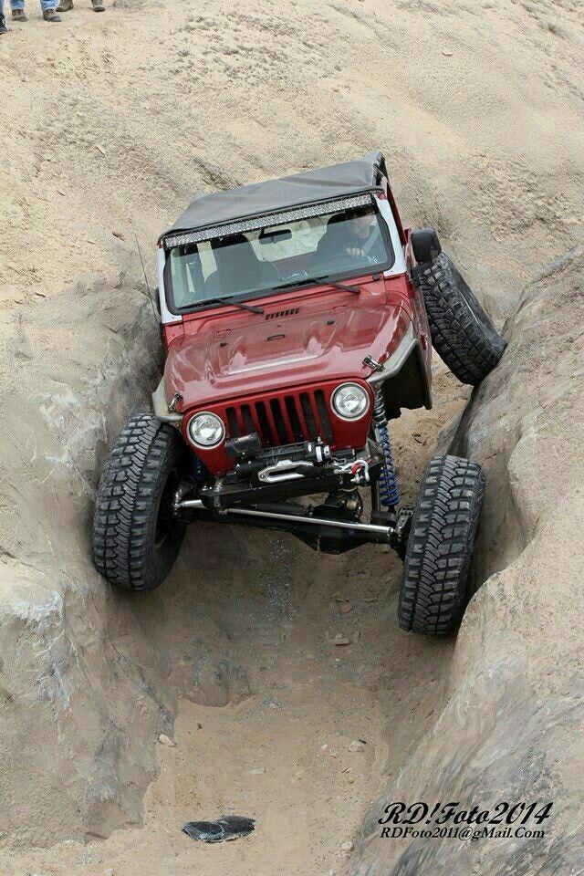 Jeep TJ crawler