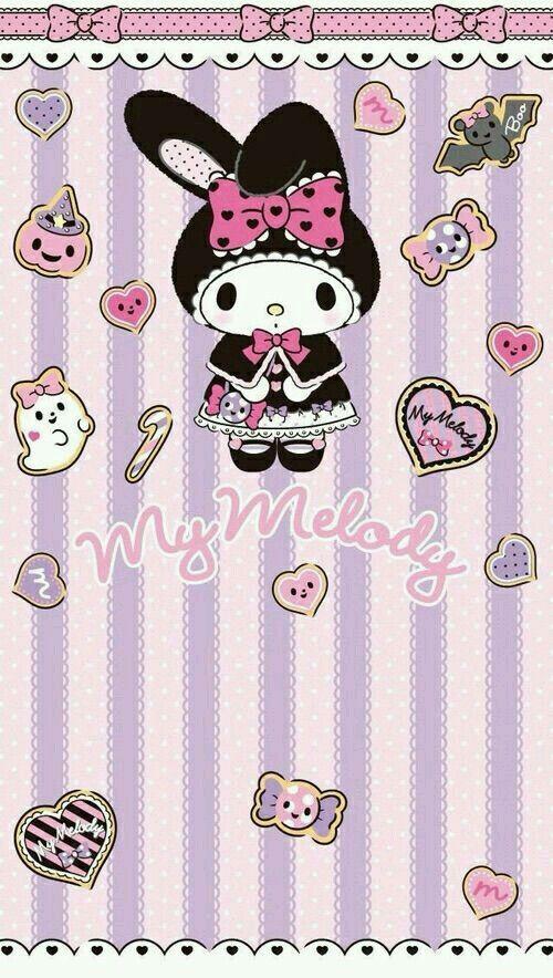 Pin by Mei Chu on MyMelody   My melody wallpaper, Hello ...