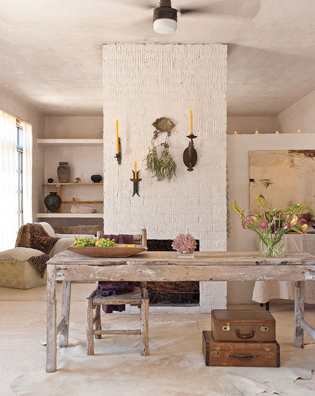 Get Exotic, South American Inspired Decorating Ideas From Artist Patricia  Larsenu0027s Serene Home Near