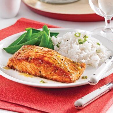 Saumon érable et Dijon - Recettes - Cuisine et nutrition - Pratico Pratique