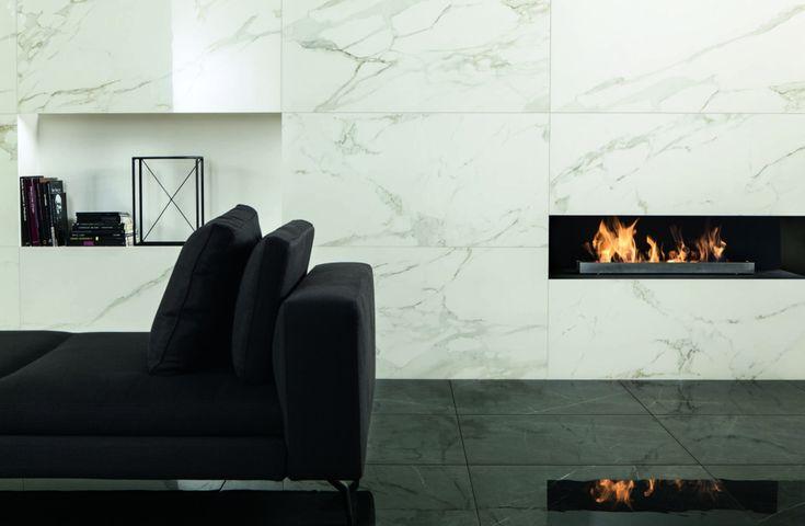 Ceramiche Caesar   ANIMA, porcelain marble effect Cersaie 2014