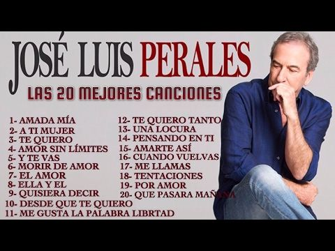 PERALES, JOSE JOSE, ROBERTO CARLOS, JULIO IGLESIAS EXITOS Sus Mejores Canciones - YouTube