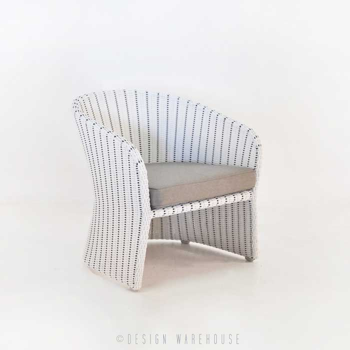 Nautical Wicker Dining Chair | Design Warehouse NZ