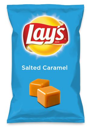 Wouldn't Salted Caramel be yummy as a chip? Lay's Do Us A Flavor is back, and the search is on for the yummiest flavor idea. Create a flavor, choose a chip and you could win $1 million! https://www.dousaflavor.com See Rules.
