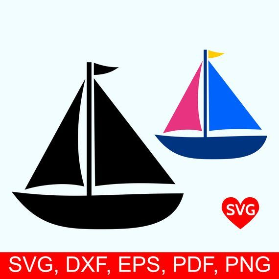 Sailboat Svg File Sailing Svg File For Cricut Sailboat Etsy In 2020 Boat Silhouette Silhouette Paper Sailboat