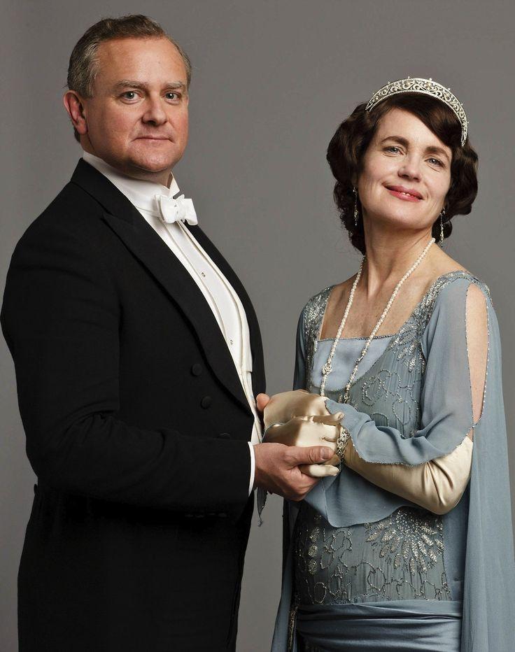 ROBERT & CORA! Gettin Ready for Season 4  | #DowntonAbbey #vintagefashion #vintage