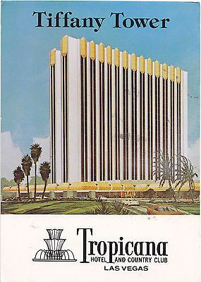 Tiffany Tower Hotel And Country Club , Las Vegas Postcard