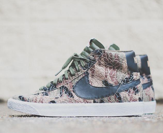 ordre de vente Nike Blazer Mid Prm Vntg Qs - Khaki / Jupe Kaki Cargo faux jeu kMZnw2