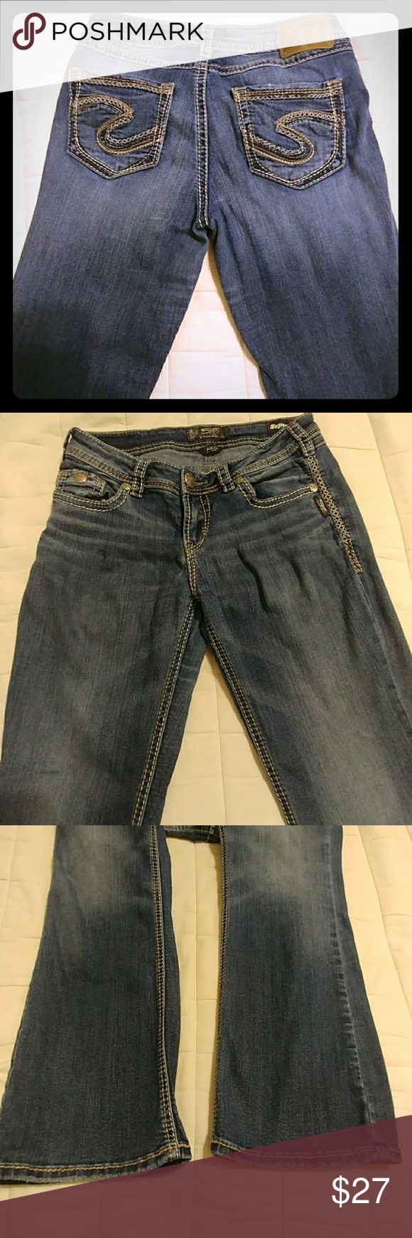 Womens Silver jeans Womens used SILVER jeans AIKO boot cut midrise 29x31. No tears or stains. Comes from a smoke-free home Silver Jeans Jeans Boot Cut