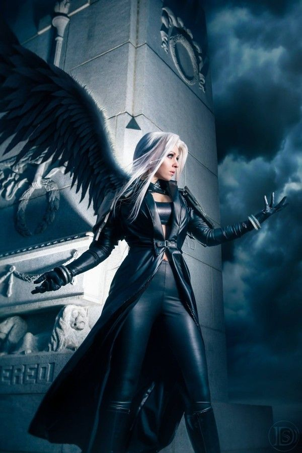 Sephiroth (Final Fantasy VII) cosplay by designer, fabricator, model and stylist: Mythic Roots Design and Cosplay #Rule63