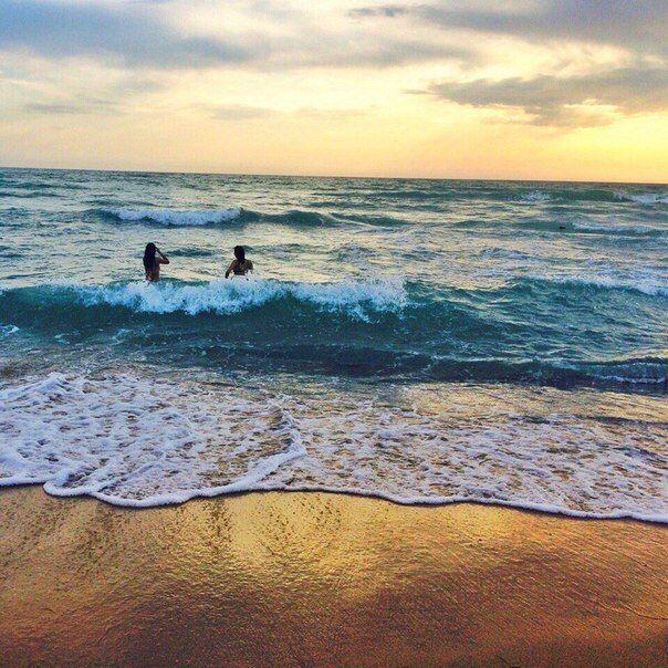 Caspian Sea. Saura.