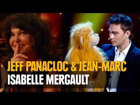 Jeff Panacloc au grand cabaret avec Isabelle Mergault