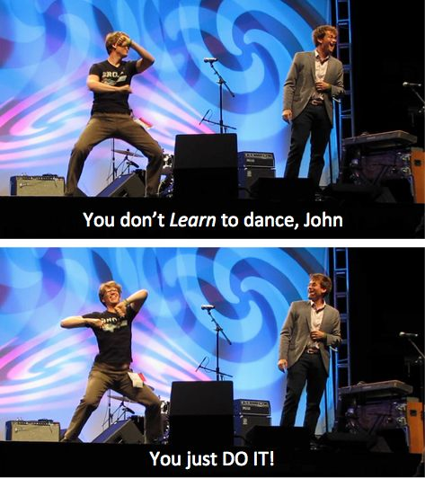 John and Hank Green :)