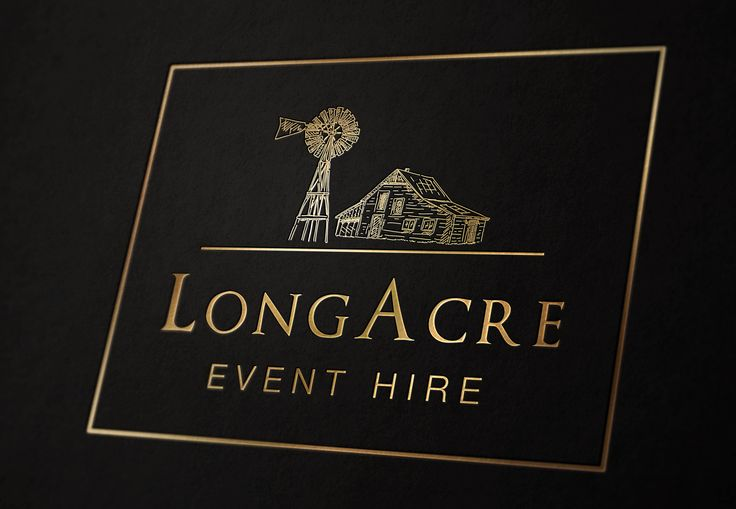 LongAcre Event Hire Logo - www.chicdesign.co.nz
