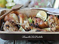 Pollo in teglia con con vinaigrette al limone, ricetta semplice