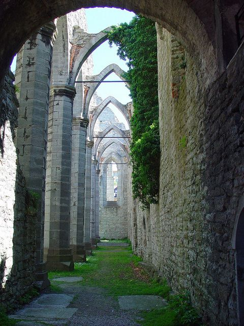St. Kathrin Church ruin, Visby, Gotland, Sweden by Ela2007, via Flickr