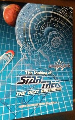 The Making of Star Trek the Next Generation card set, Sky Viewer & cards