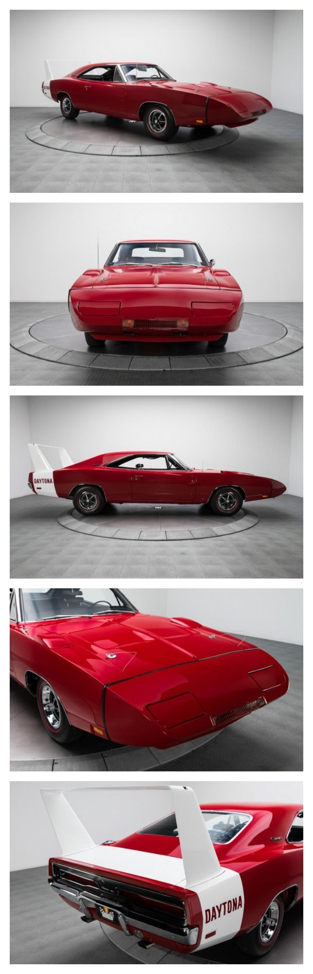 A poster child for the golden era of Detroit, the Charger Daytona stands head and shoulders above nearly every classic in terms of looks, exclusivity and performance. #autoawesome