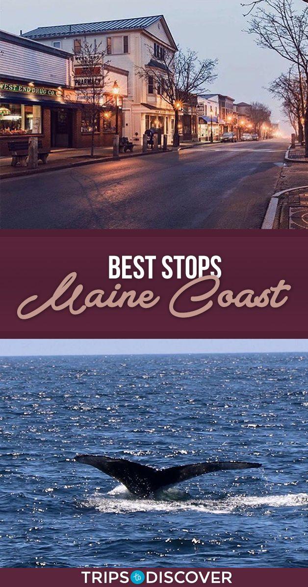 9 Stunning Stops On The Maine Coast Maine Road Trip East Coast