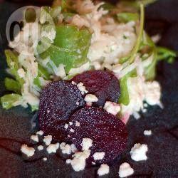 recipe photo: Insalata di ravanelli, barbabietola e feta
