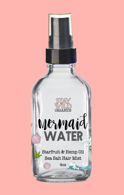 Mermaid Water - Starfruit & Sea Salt Hair Spray