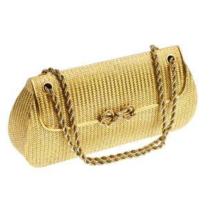 TIFFANY & CO. - a diamond clutch bag