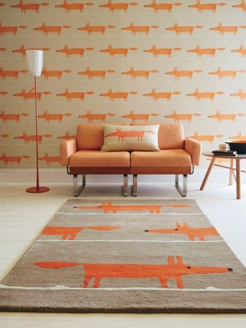 Woollen Rugs and Synthetic Rugs - Why the Price Difference - Scion Mr Fox Cinnamon 25303 - Catwalk Rugs  |  designlibrary.com.au