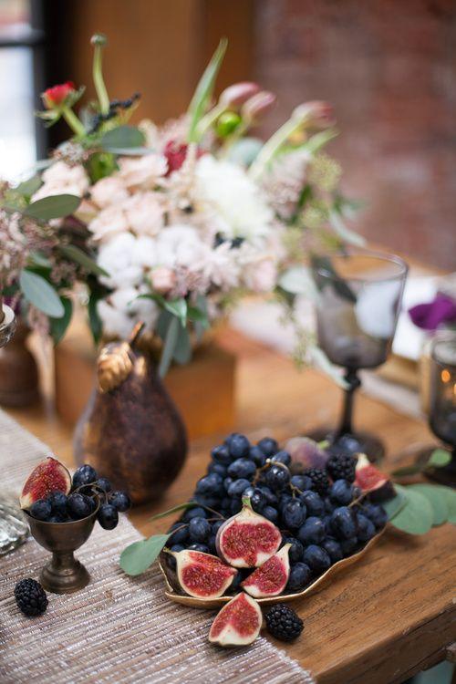 Декор свадебного стола для фотосессии