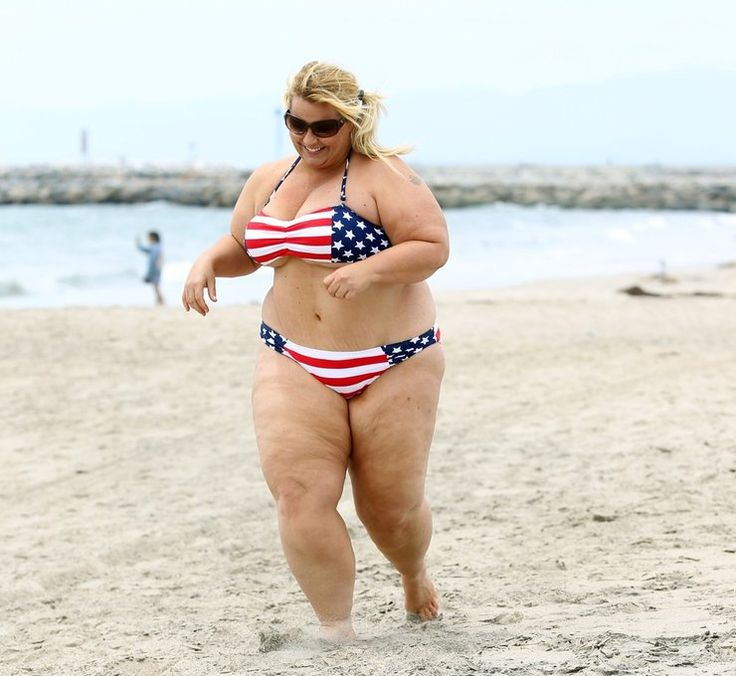 Fat Lady In Swim Suit