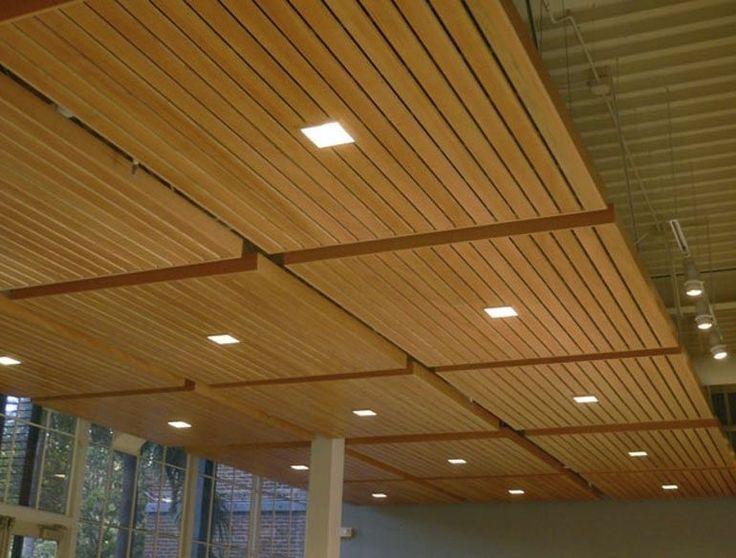 Soundproof A Basement Ceiling Wood Panel Ceiling Dropped Ceiling Drop Ceiling Panels False Ceiling Design