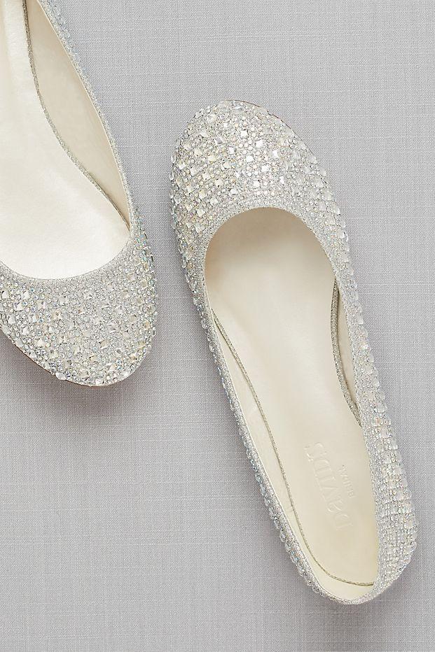 9cf08da6ba3c Crystal Embellished Ballet Flats