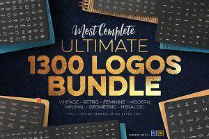 1300 Logos Ultimate Megabundle