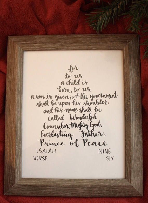 The prophetic words of Isaiah 9:6 are so beautifully telling of the birth of Jesus. And the star is such a pivotal part of the story of some of the first visitors to seek out Jesus. Frame this print and display it as a reminder of some of the powerful names of Jesus. This print is 8x10