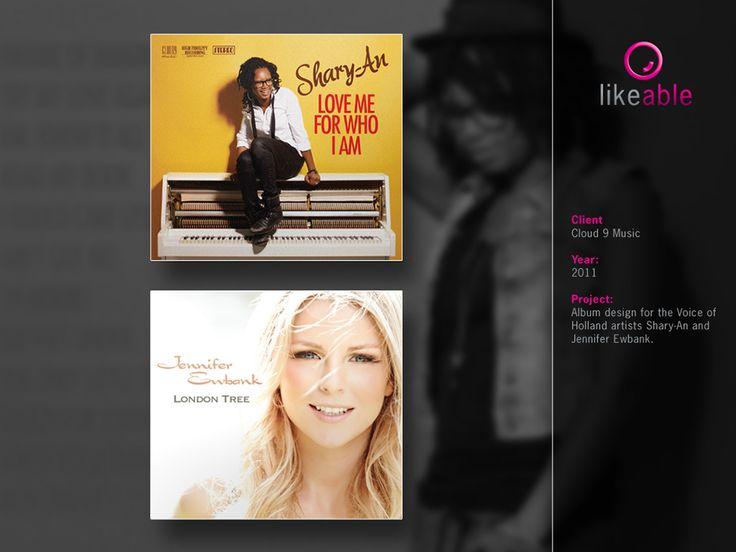 #LikeableDesign #MartijnKoudijs #CDCovers #CDDesign #GraphicDesign #Cloud9Music www.likeable.nl