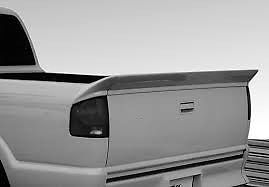 Chevy S10 1994-2003 Wingswest Urethane 3 pc rear tailgate spoiler No light #wingswest