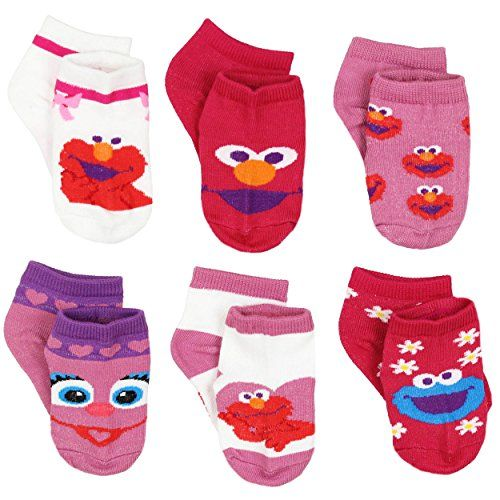 Sesame Street 6 Pack Girls Quarter Socks #KidsSocks #CharacterSocks #FunSocks #GiftsForKids #KidsFashion #Shopping #FunFashion #FunStartsHere #YTB #kneehigh #ankle #noshow #stockingstuffer #costume Sesame Street Elmo Cookie Monster Oscar the Grouch Big Bird Abby Cadabby Grover #sesamestreet #elmo #cookiemonster #oscarthegrouch #bigbird #abbycadabby #fairy #grover #monster #canyoutellmehowtogettosesamestreet