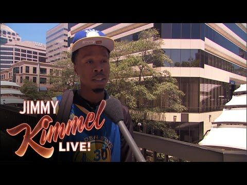 Jimmy Kimmel Live: Lie Witness News - Golden State Warriors Edition