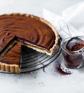 Leckere Schokoladenkuchen: Rezepte für Schokoladentarte, Kalter Hund und Schokoladen-Minigugelhupf.