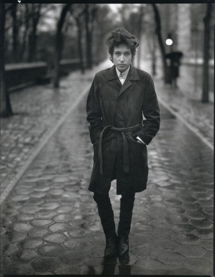 Bob Dylan. Central Park.February 10, 1965.