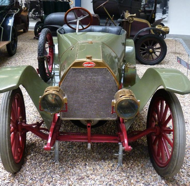 Bugatti 13 - 1910 - Vintage car at the National Technical Museum of Prague…