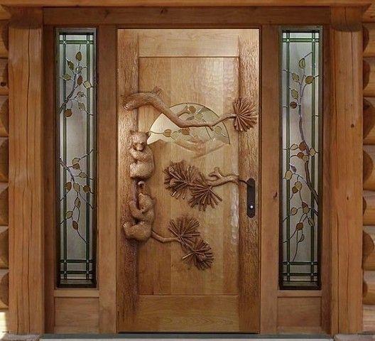 дверь ручной работы!