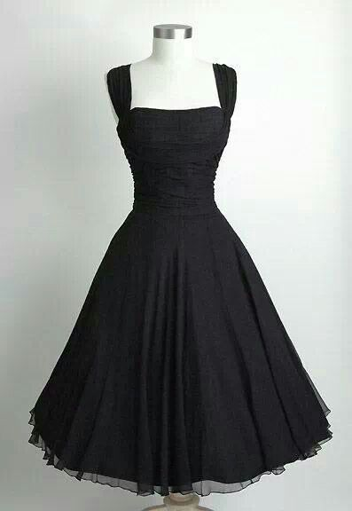 dream black dress