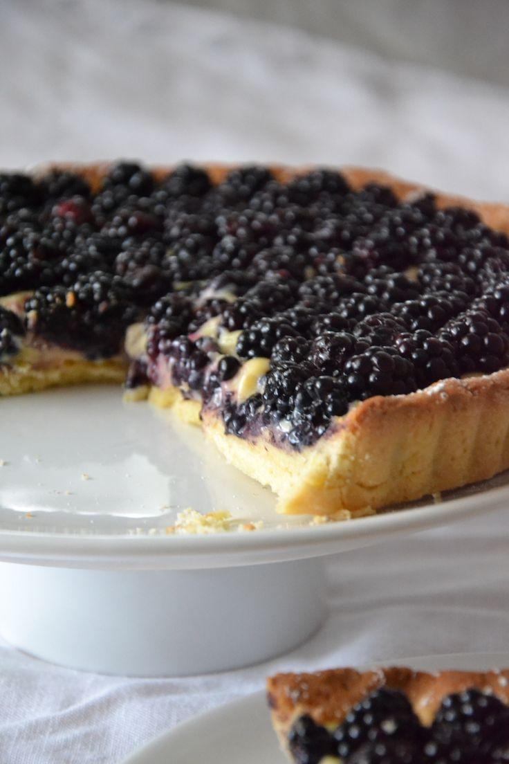 Tarte aux mûres et citron vertBlackberry tart with key limeBrombeere Torte und Limette