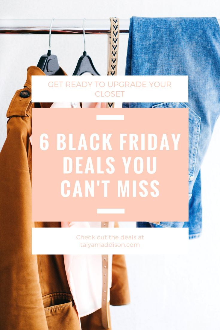 6 Black Friday Deals You Can't Miss!   black friday, shopping, deals, sales, teen lifestyle blog, fashion blog, teen blogger, teen fashion ideas, outfit ideas